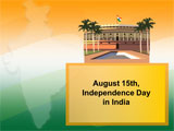 August 15 Independence Day in India