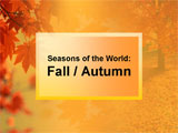 Fall / Autumn PowerPoint Presentation