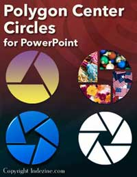 Polygon Center Circles for PowerPoint