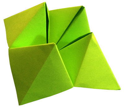 Matrix Diagram: Fortune Teller Origami