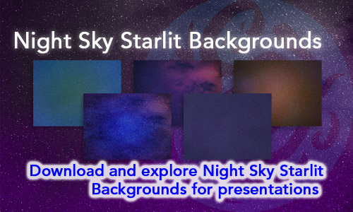 Night Sky Starlit Backgrounds