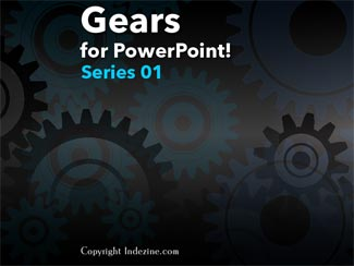 Gears for PowerPoint (Series 01)