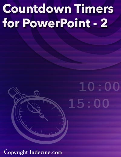 Countdown Timers for PowerPoint from Indezine.com