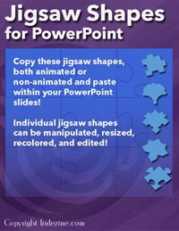 Jigsaw Shapes for PowerPoint Presentations