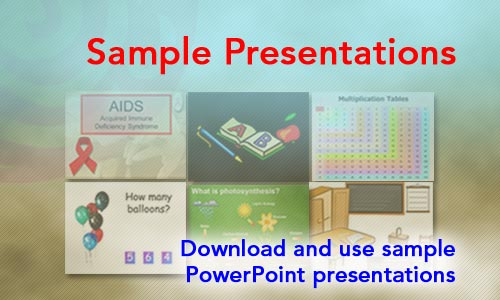 Sample PowerPoint Presentations