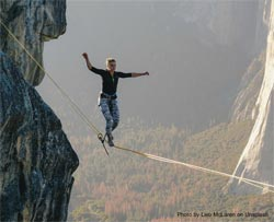 Walking the Tightrope: by Sarah Rowlands