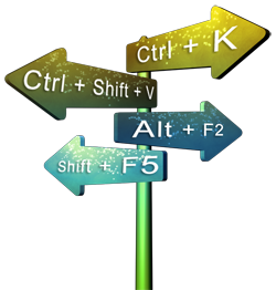 Keyboard Shortcuts and Sequences for PowerPoint