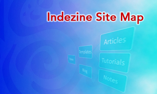 Indezine Site Map