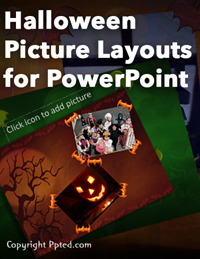 Halloween Picture Layouts