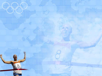 olympic games 02 powerpoint templates