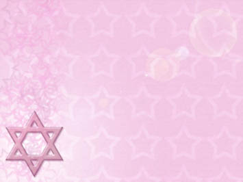 Star of David PowerPoint Template