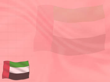 United Arab Emirates (UAE) Flag PowerPoint Template