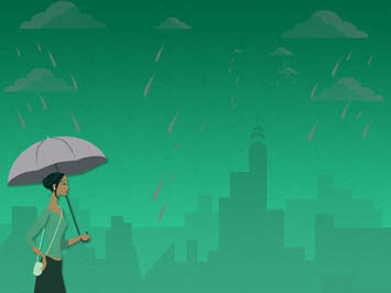 Monsoon / Rains PowerPoint Template