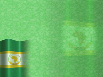 African Union Flag PowerPoint Templates