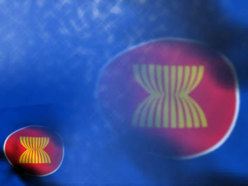 asean flag 03 powerpoint templates
