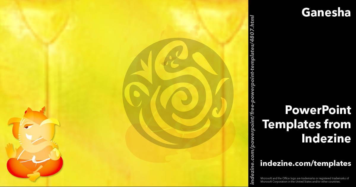 Ganesha 01 PowerPoint Template