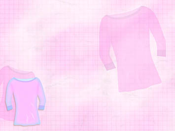 Female T-Shirt PowerPoint Templates