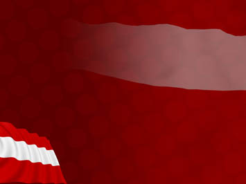 Austria Flag PowerPoint Template