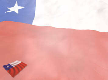 Chile Flag PowerPoint Templates