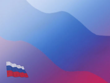 Russia Flag PowerPoint Template