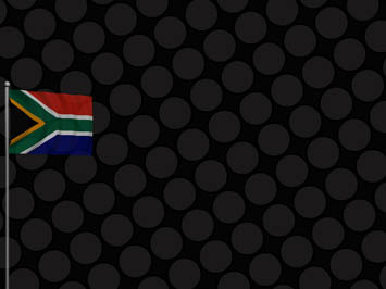 South Africa Flag PowerPoint Templates