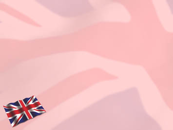 United Kingdom Flag PowerPoint Template