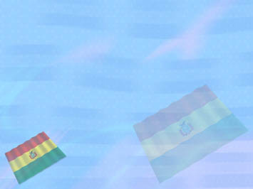 Bolivia Flag PowerPoint Template
