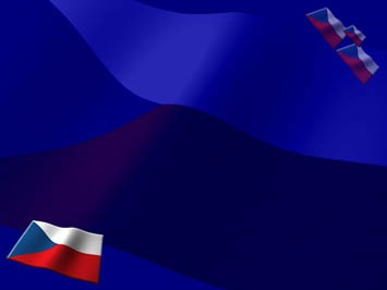 Czech Republic Flag PowerPoint Templates