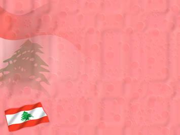 Lebanon Flag 01 Powerpoint Templates