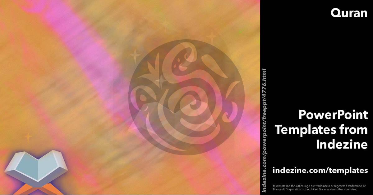 Quran 01 powerpoint templates toneelgroepblik Images