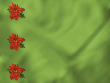 Poinsettia PowerPoint Template