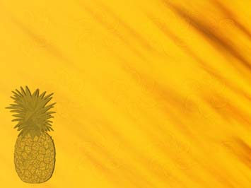 Pineapple PowerPoint Template