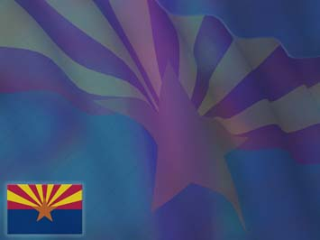 Arizona Flag PowerPoint Templates