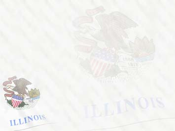 Illinois Flag PowerPoint Template