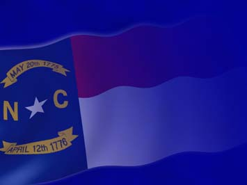 North Carolina Flag PowerPoint Templates