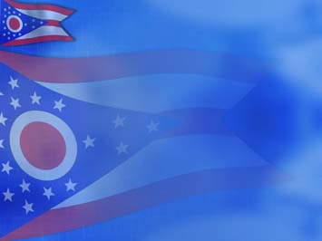 Ohio Flag PowerPoint Templates