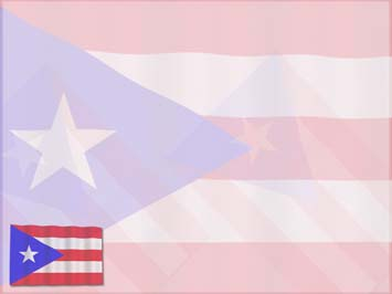 Puerto Rico Flag PowerPoint Template