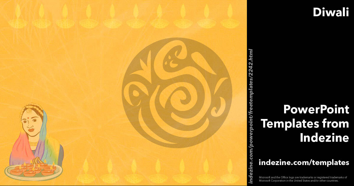 diwali 02 powerpoint template