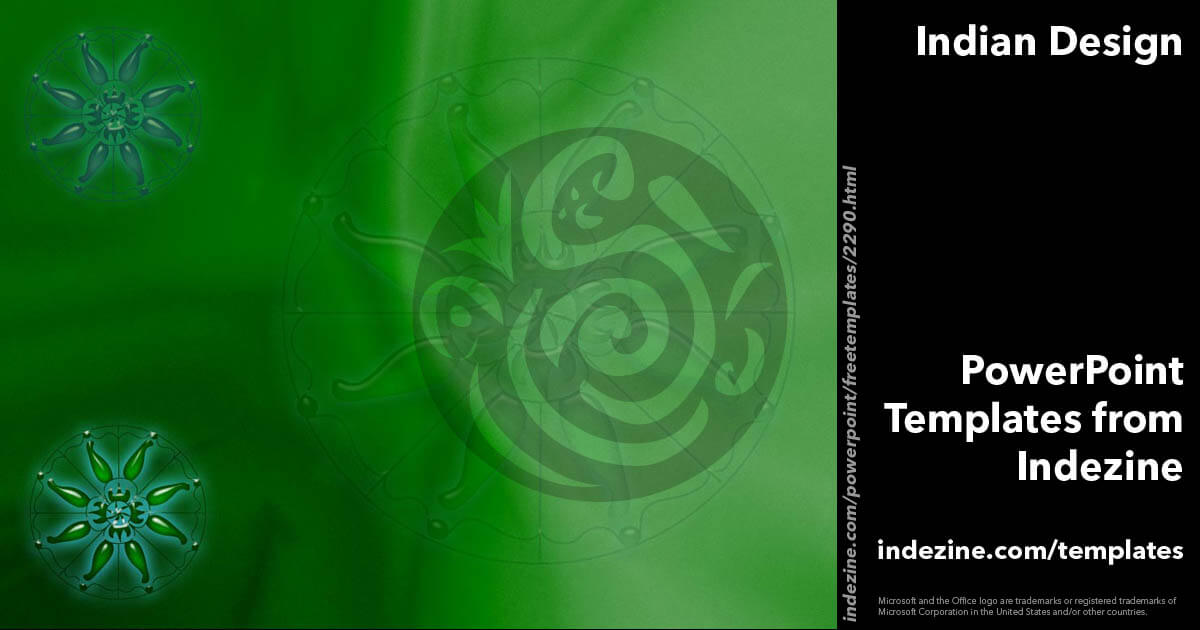 indian design 05 powerpoint template