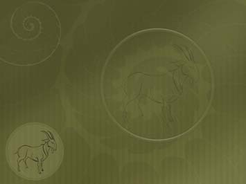 Chinese Zodiac Sheep 01 Powerpoint Template