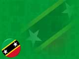 Saint Kitts and Nevis Flag PowerPoint Templates