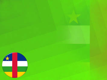 Central African Republic Flag PowerPoint Templates