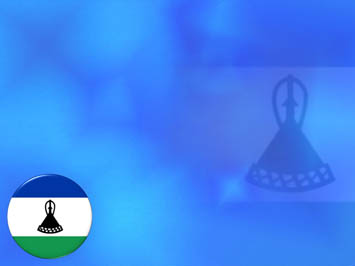 Lesotho Flag PowerPoint Templates