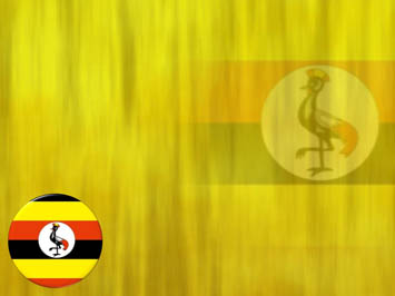 Uganda Flag PowerPoint Template
