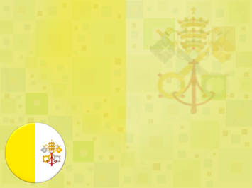Vatican City Flag PowerPoint Template