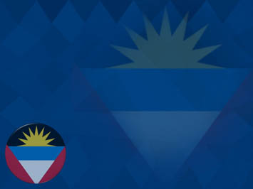 Antigua and Barbuda Flag PowerPoint Templates