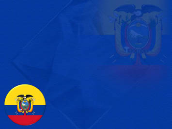 Ecuador Flag PowerPoint Templates