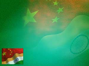 India China PowerPoint Templates
