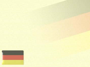 Germany Flag PowerPoint Template