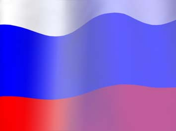 Russia Flag PowerPoint Templates